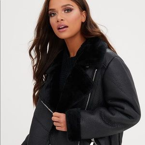 COPY - Zara Double Faced Leather Jacket